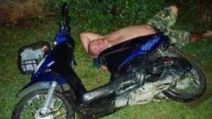 В Мглинском районе разбился пьяный 34-летний водитель мопеда