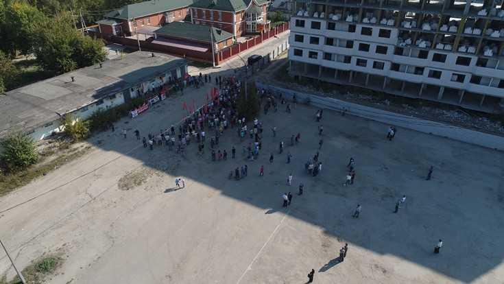В Брянске провалили очередной митинг против повышения пенсионного возраста