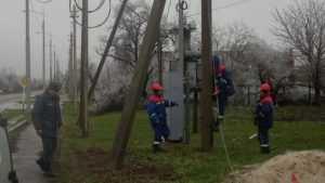 В Брянской области после непогоды восстановили энергоснабжение