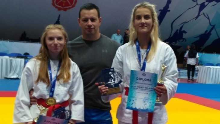 Две брянские девушки стали чемпионками мира по рукопашному бою