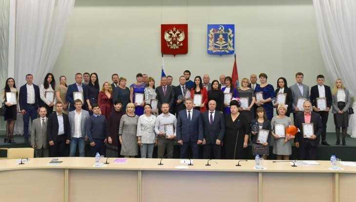 Лучших предпринимателей Брянской области наградил губернатор Богомаз