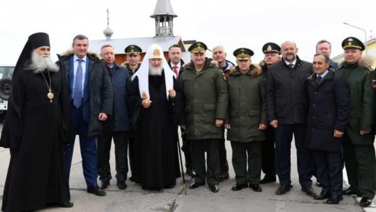 Брянского депутата Михаила Иванова Патриарх Кирилл поздравил с 45-летием
