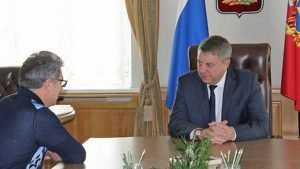 Владелец брянского цементного завода доложил губернатору об успехах