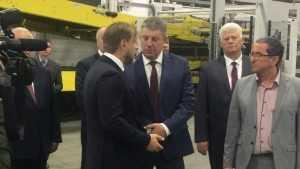 На фабрике «Пролетарий» в Сураже открыли производство мирового уровня