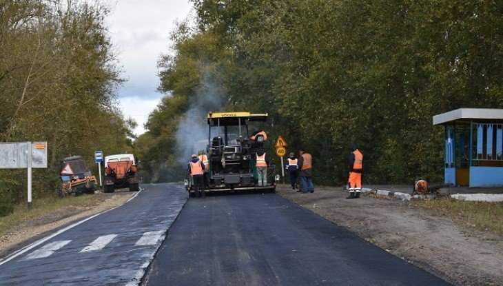 Дорогу Сураж – Унеча отремонтировали за 50 млн рублей