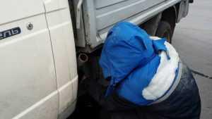 ВБрянске возле площади Ленина из «ГАЗели» воры слили бензин