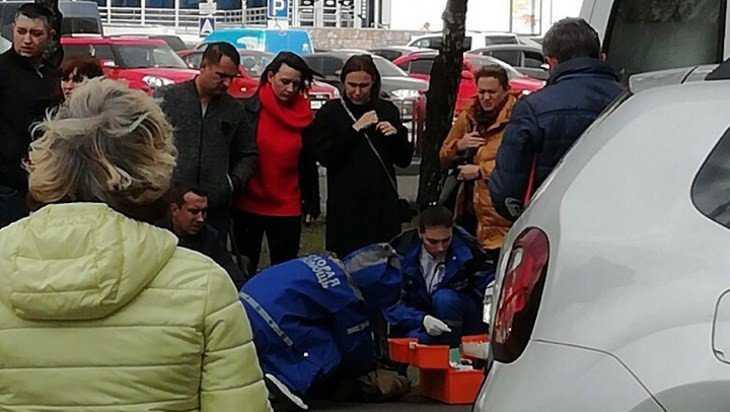 В Бежице внедорожник сбил перебегавшего дорогу парня