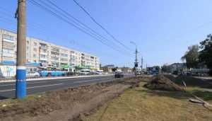 В Брянске ливневку на Московском проспекте построят до января
