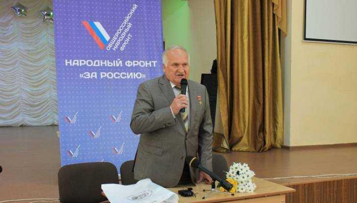 Космонавт Виктор Афанасьев провёл в брянской школе «Урок России»