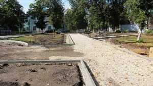 Сквер имени Ленина в Брянске преобразится к концу октября