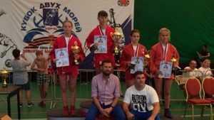 Брянская самбистка стал второй в Керчи на «Кубке двух морей»