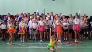 В четырех сельских школах Брянщины открылись новые спортзалы