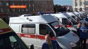 Медицина Брянской области получит новые машины скорой помощи