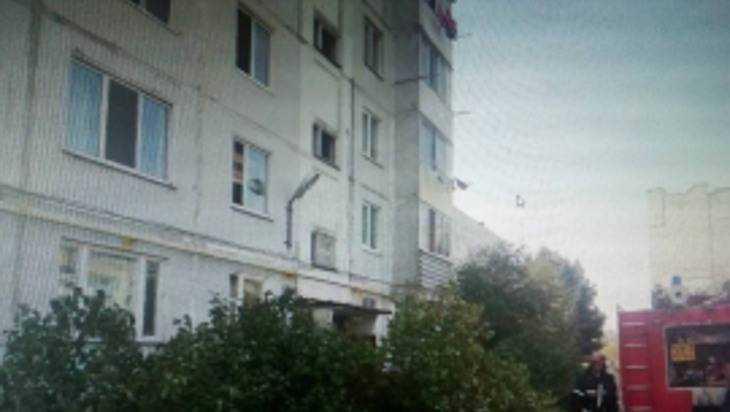В Бежице сгорела кухня в одной из квартир многоэтажки