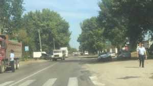 В Брянске на улице Белорусской столкнулись две легковушки