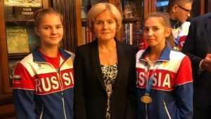 Вице-премьер Ольга Голодец встретилась с брянскими самбистками