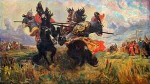 Брянцы вспомнили о подвиге великого земляка Александра Пересвета