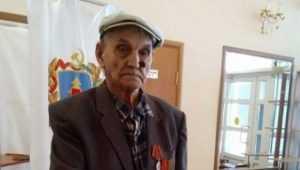В брянском Стародубе проголосовал столетний ветеран войны