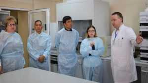 Брянскую лабораторию посетили гости из далеких Филиппин