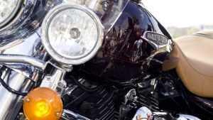 На брянской объездной дороге покалечился беспечный ездок на Harley-Davidson