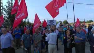 В Брянске начался митинг против повышения пенсионного возраста