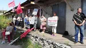 В Брянске коммунисты с треском провалили пенсионный митинг