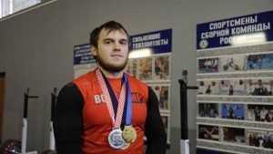 Брянский тяжелоатлет Егор Климонов стал чемпионом России