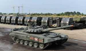 На параде в Брянске танки обуют в резиновые калоши