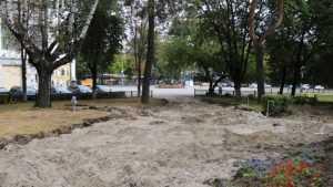 Сквер имени Морозова в Брянске преобразят к концу октября