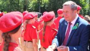 В Брянске «Юнармия» 17 сентября пополнит свои ряды молодежью