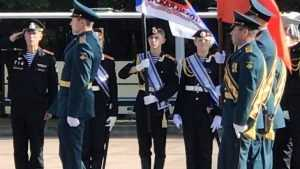 В центре Брянска началась генеральная репетиция военного парада
