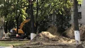 В Брянске ускорили строительство ливнёвки на Московском проспекте