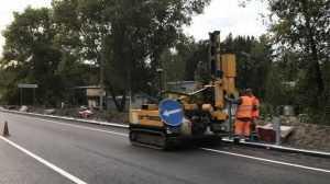 Реконструкцию моста под Брянском завершат новыми отбойниками