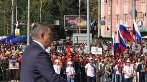 Брянский губернатор сказал большое русское спасибо освободителям