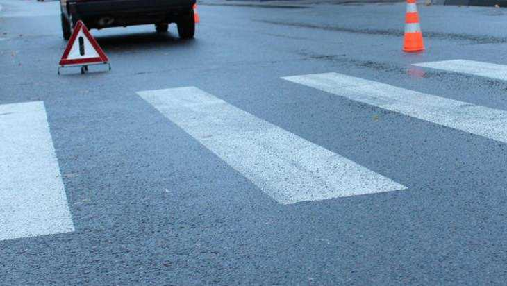 В День города водитель «Жигулей» в центре Брянска сбил женщину на переходе