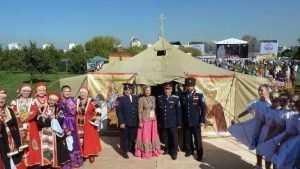 Брянские артисты успешно выступили на Международном казачьем фестивале