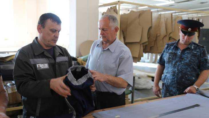 В брянской колонии заключённые сшили спортивные костюмы для детей