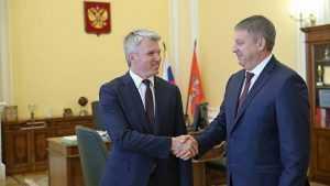 Брянский губернатор встретился с министром спорта Павлом Колобковым