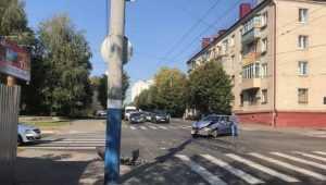 В Брянске в ДТП с маршруткой №28 женщина сломала позвоночник