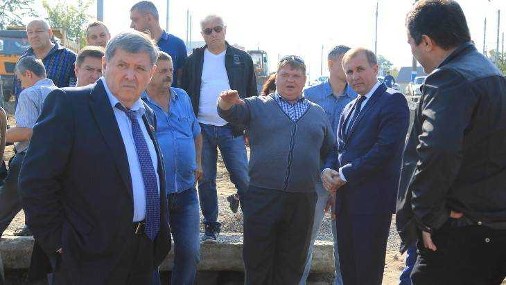 Строителей дороги на Городищенской горке предупредили об ухудшении погоды