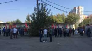 В Брянске начался очередной провальный митинг против пенсионной реформы