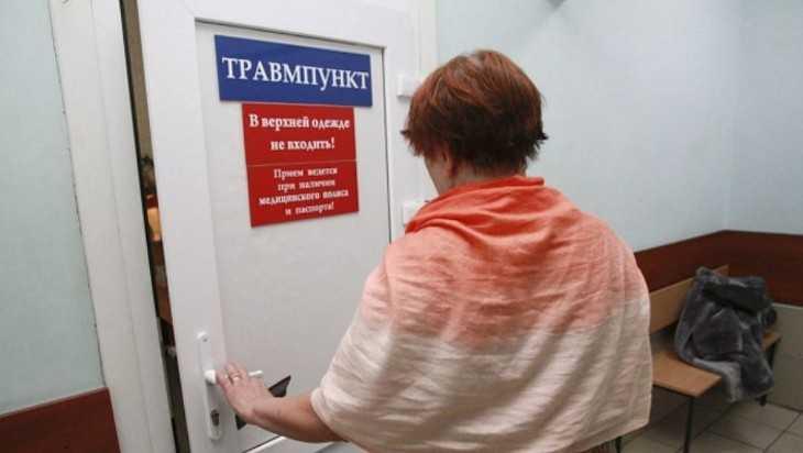 Жительница Брянска сломала нос в маршрутке