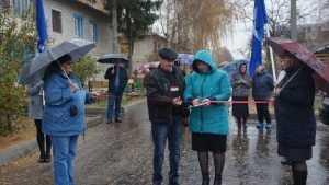В Клинцах и Рогнедине завершили благоустройство нескольких дворов