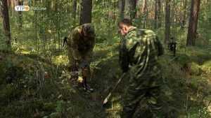 В Брянской области нашли останки девяти солдат