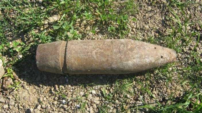 В Бежицком районе Брянска обезвредили артиллерийский снаряд