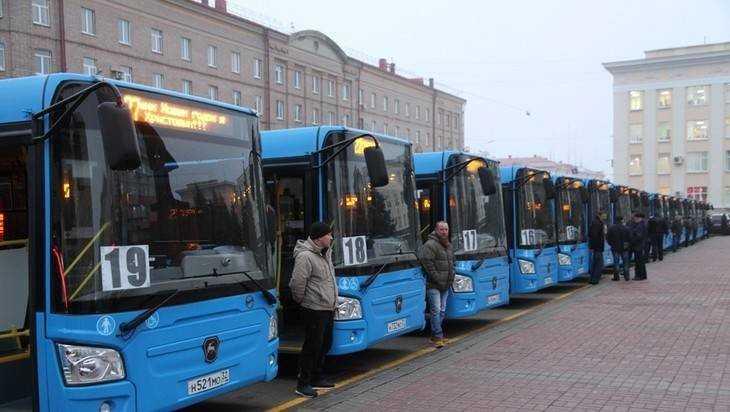 В Брянской области на 150 миллионов рублей закупят новые автобусы