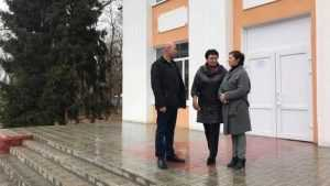Заместитель губернатора посетил учреждения культуры Дятьковского района