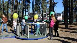 В Сельцо открыли уникальную площадку для детей