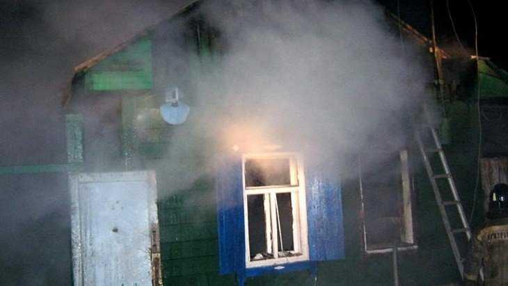 В Красногорском районе при пожаре в частном доме пострадал человек