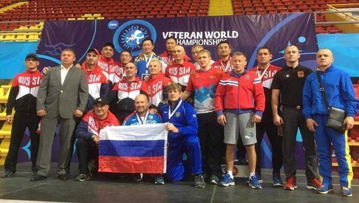 Борец-ветеран из Унечи на чемпионате мира завоевал серебряную медаль